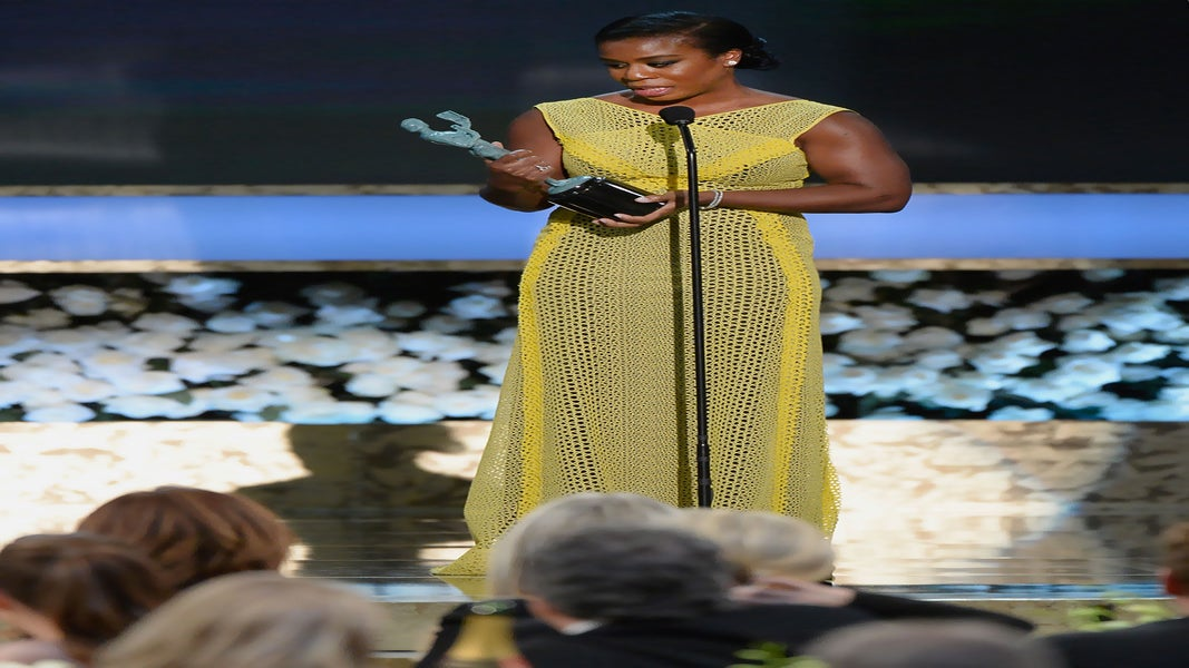 Why Uzo Aduba's SAG Awards Speech Had Us Reaching for the Kleenex