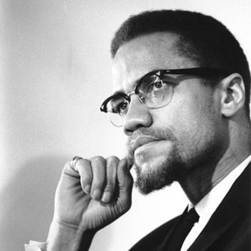 Malcolm X Black And White Pictures