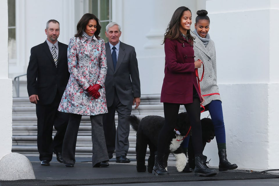 Spotted: Malia and Michelle Obama Touring New York City Colleges