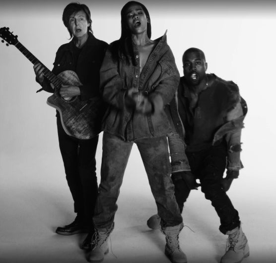 Watch Rihanna, Kanye West and Paul McCartney in New 'FourFiveSeconds' Video