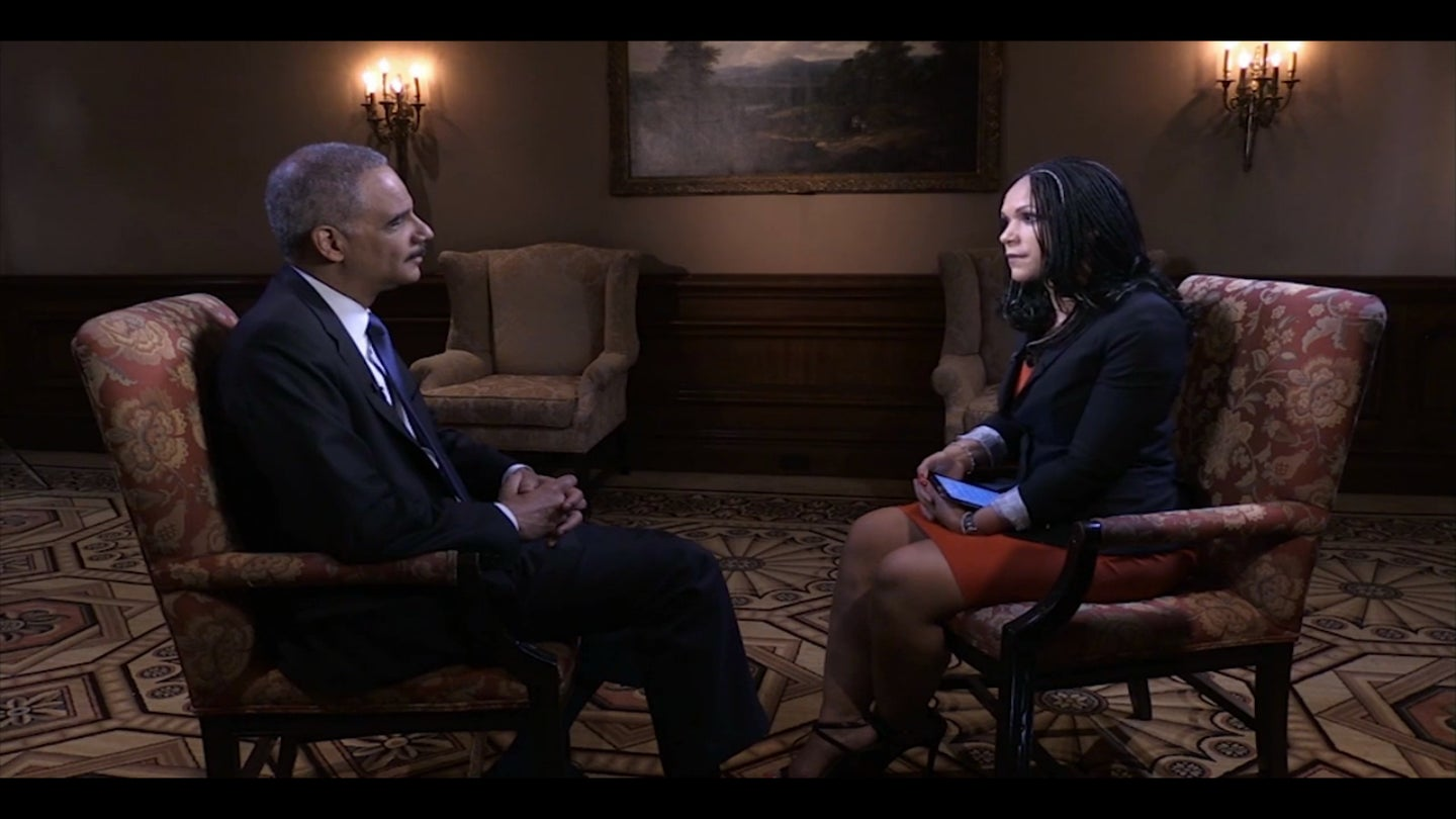 Attorney General Eric Holder Discusses Influential Black Women In His Life, Calls Domestic Violence a Men's Issue