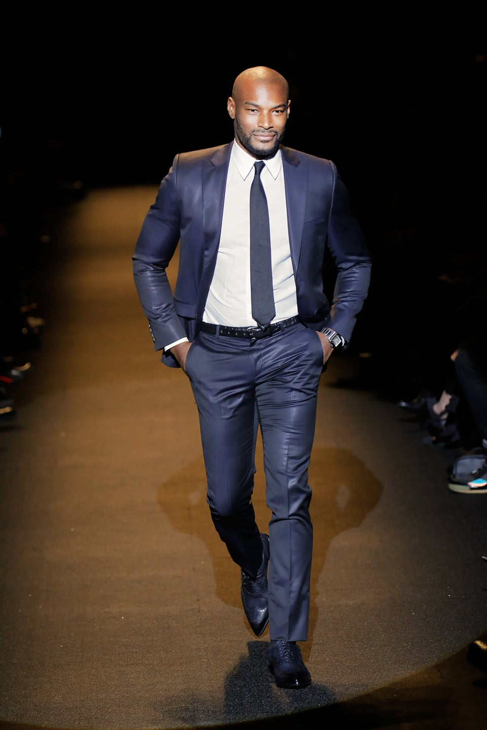 Tyson Beckford Probably Has More Skincare Products Than You In His Bathroom