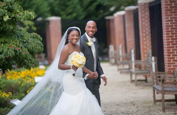 Bridal Bliss: April and Donté's Maryland Wedding