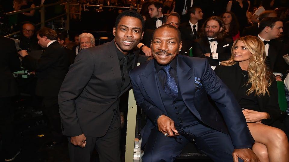 Chris Rock Pays Homage to Eddie Murphy at SNL 40th Anniversary