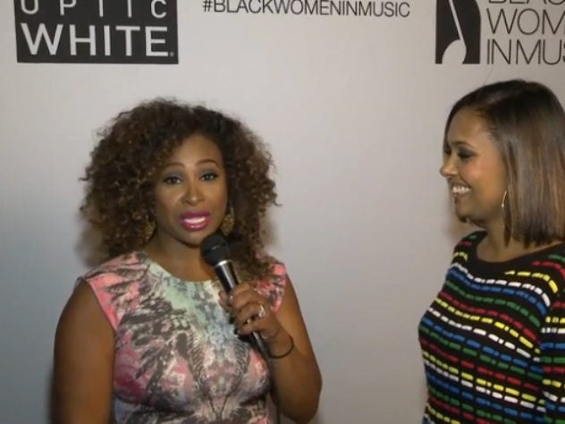 Behind the Scenes with Tanika Ray at Black Women in Music
