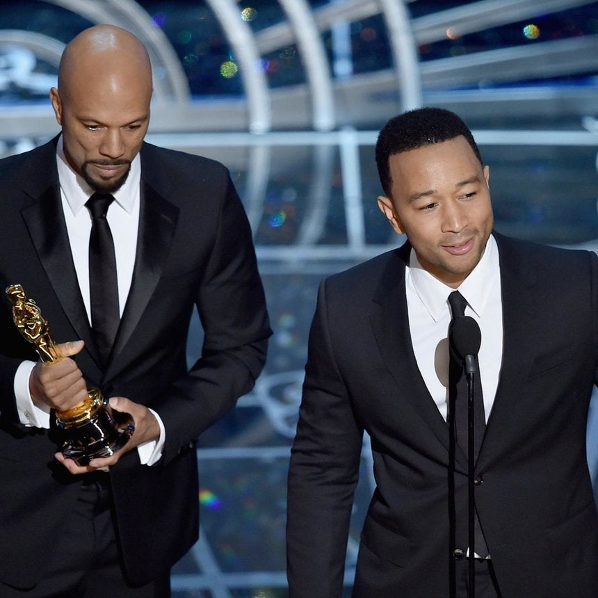 Common and John Legend Deliver Moving Oscar Acceptance Speech After Win For 'Glory'