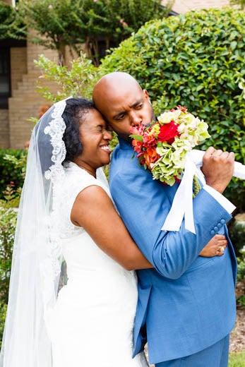 Bridal Bliss: Baranda and Lincoln's Dallas Home Wedding