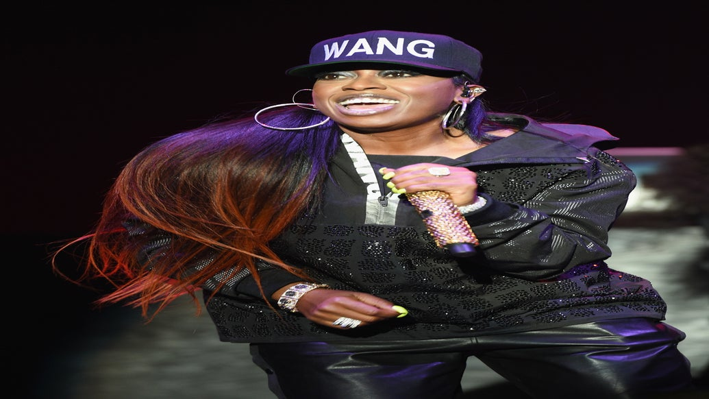 Missy Elliott Sweats Out Her 'Good Weave,' Hops into Crowd at First Essence Festival Show
