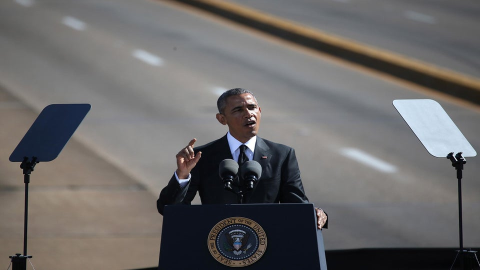 President Obama Delivers Moving Speech At Selma Anniversary March