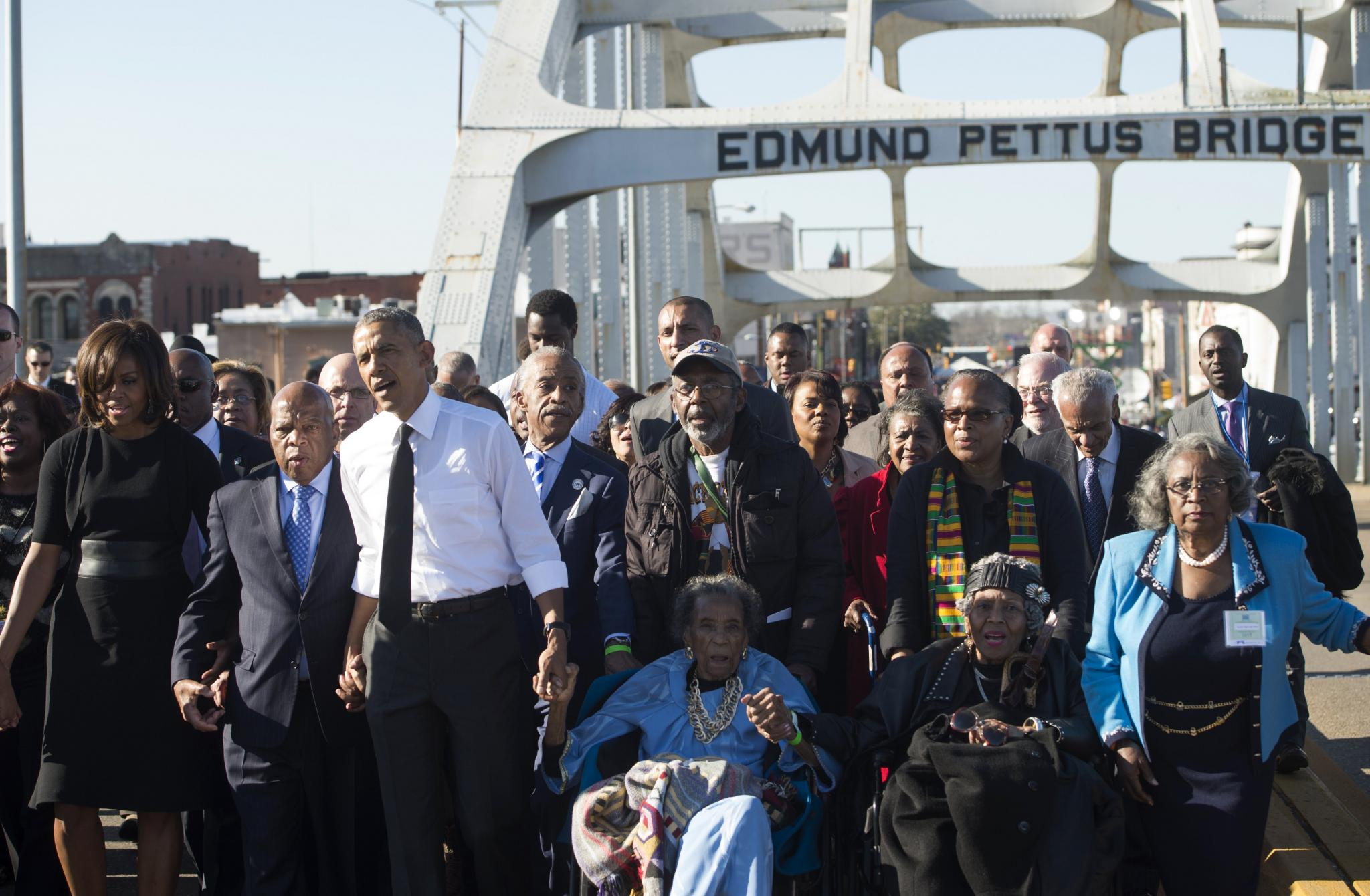 Flying With President Obama to Witness History in Selma