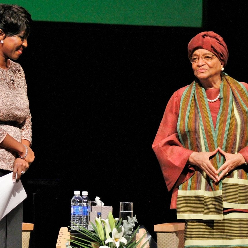 Liberian President Ellen Johnson Sirleaf: 'I Didn't Let Ebola Beat Me!'