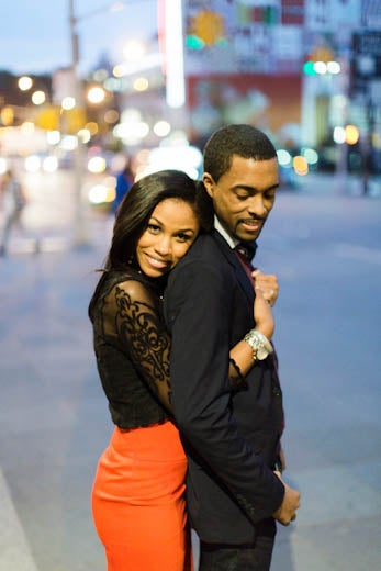 Just Engaged: Andrea and George's Engagement Story