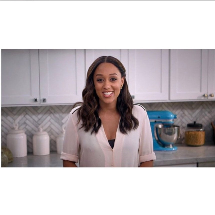 Tia mowry talks cooking and whether food is really the way to a tia mowry on her cooking show favorite recipes and whether food really is the way to a mans heart forumfinder Image collections