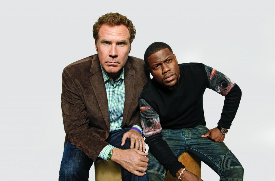 Will Ferrell and Kevin Hart Aren't Joking Around No More