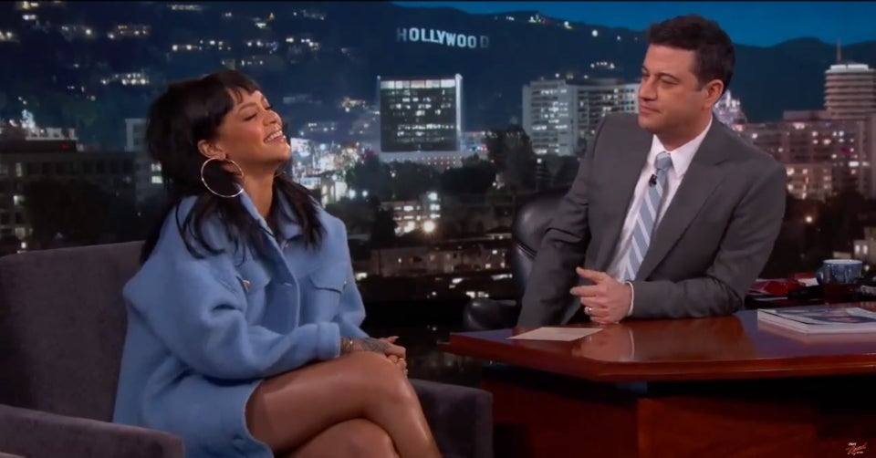 Rihanna Pranked Jimmy Kimmel for April Fool's Day, And It's Hilarious!