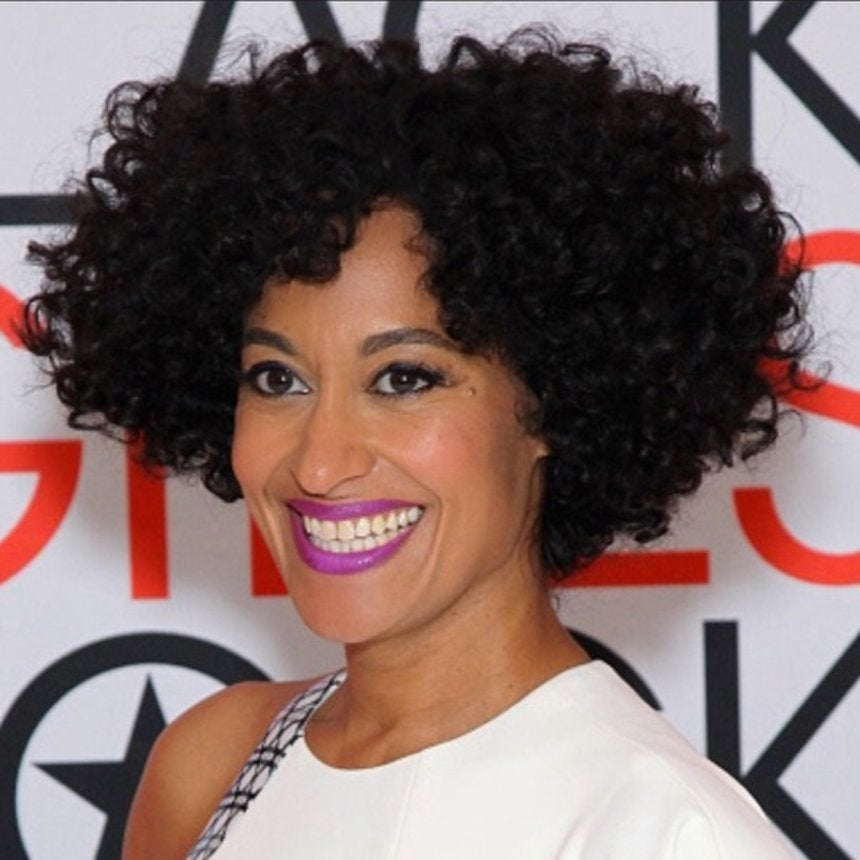 Two Bold Lips & a Hair Trick: Tracee Ellis Ross' Glam Squad On Her Black Girls Rock! Looks