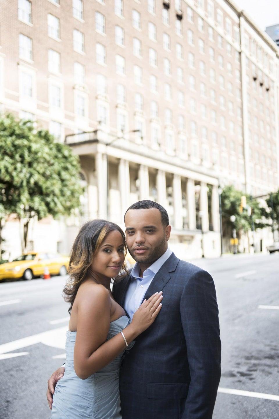 Just Engaged: Jenaya and Brian's Love Story