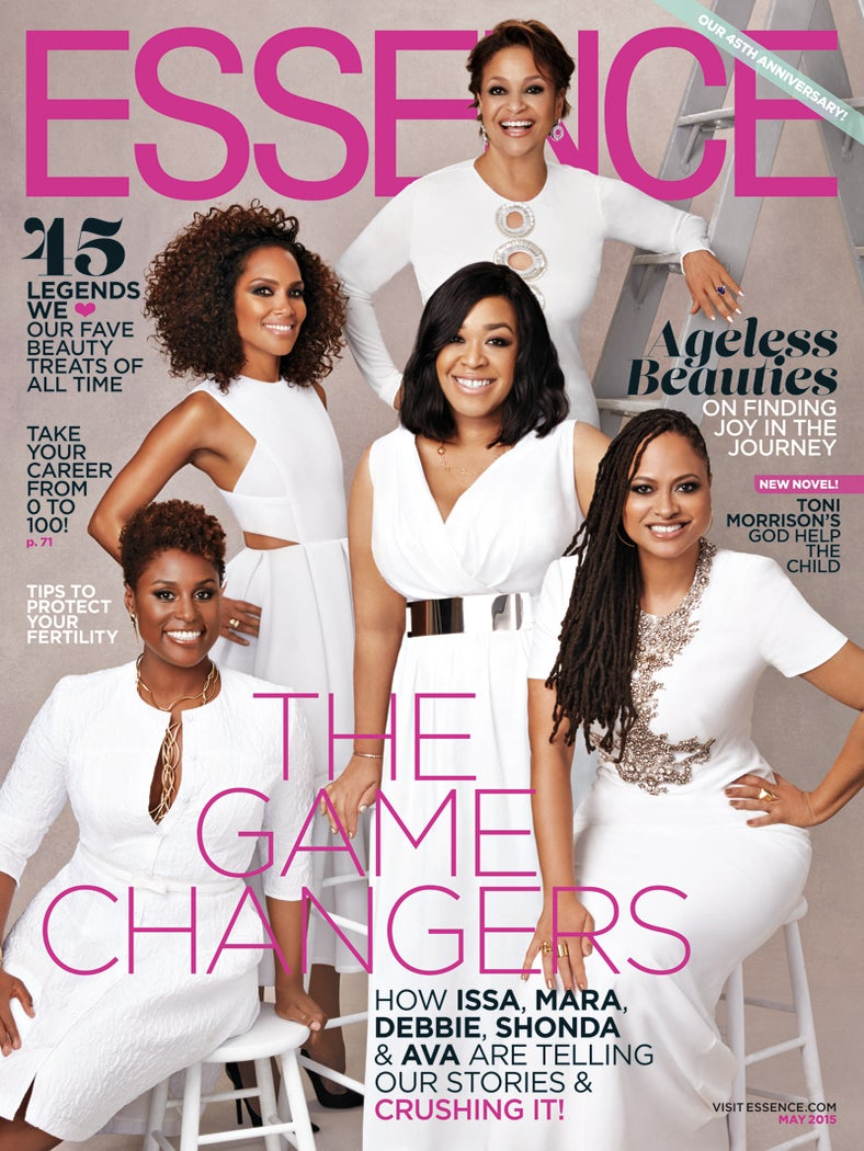Shonda Rhimes, Ava DuVernay, Debbie Allen, Mara Brock Akil and Issa Rae Cover ESSENCE's 'Game Changers' Issue