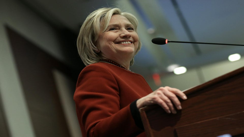 Hillary Clinton Lays Out Platforms On First Leg of Campaign Rollout