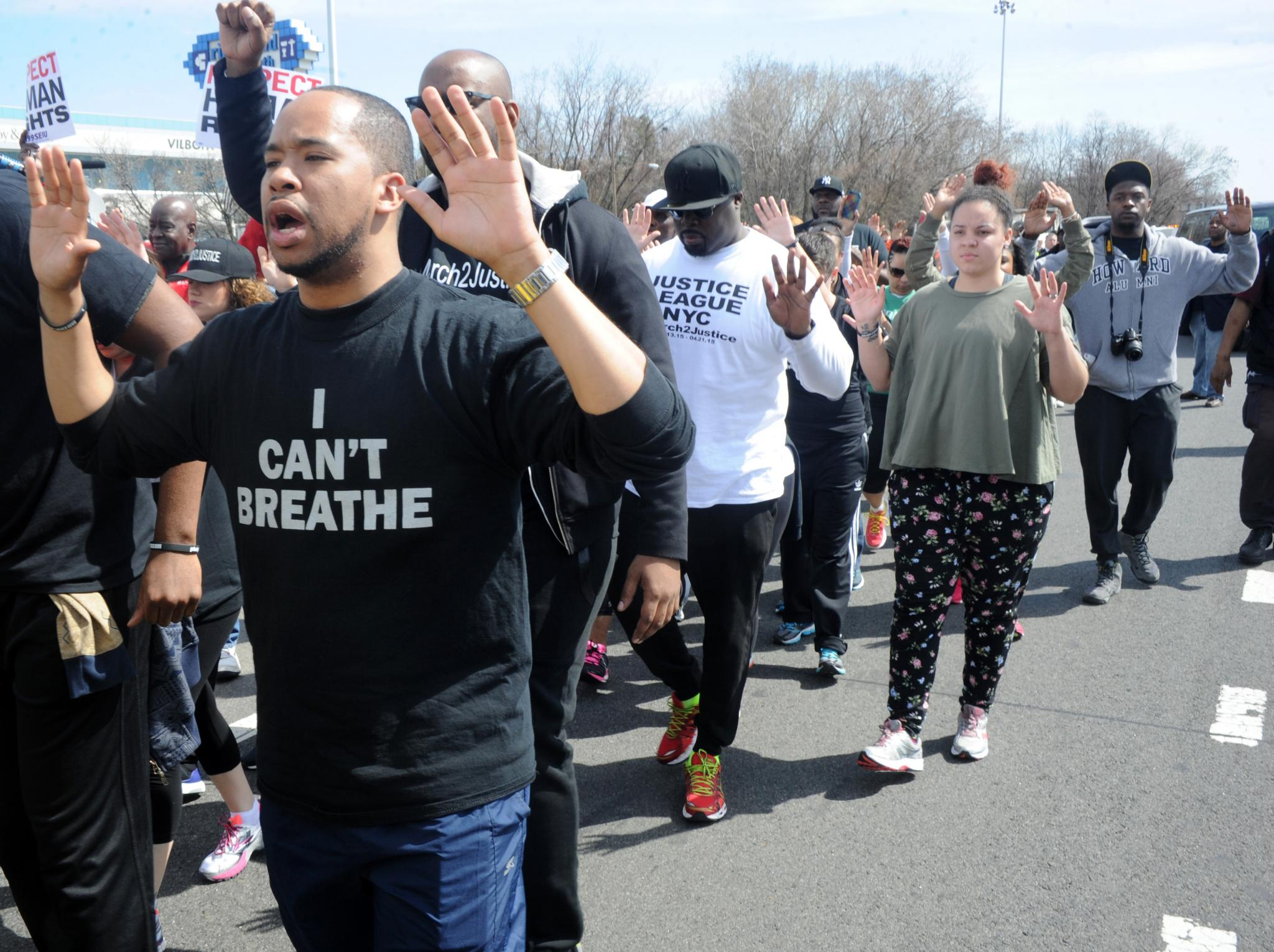 Activists March From NYC to DC to Fight Police Brutality
