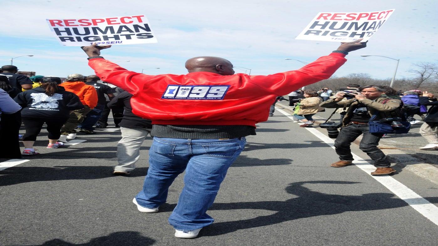Justice League Protestors Prepare to Conclude 250-Mile March in DC