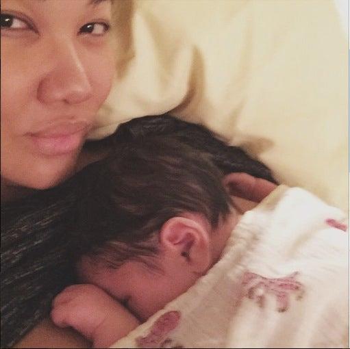 Kimora Lee Shares First Photo of Newborn Baby