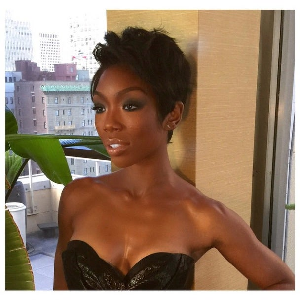 Photo Fab: Brandy's New Short Cut