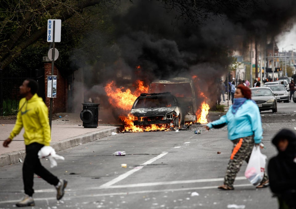 Baltimore Teen Being Held on $500,000 Bail for Rioting