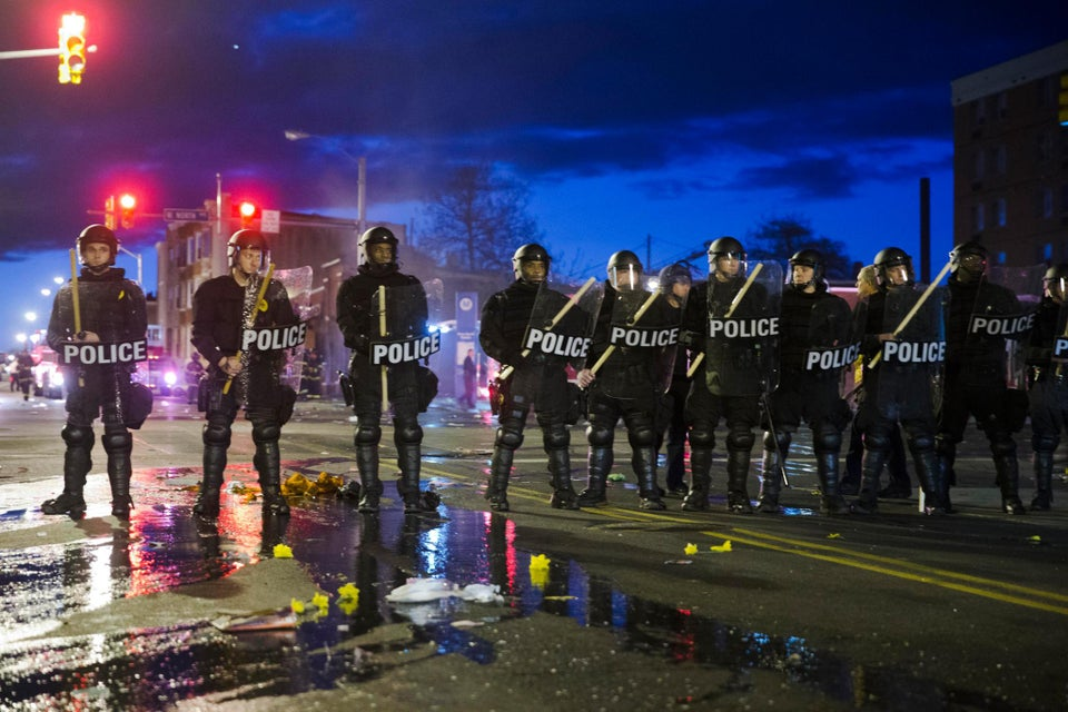 Baltimore Recovering from Night of Unrest