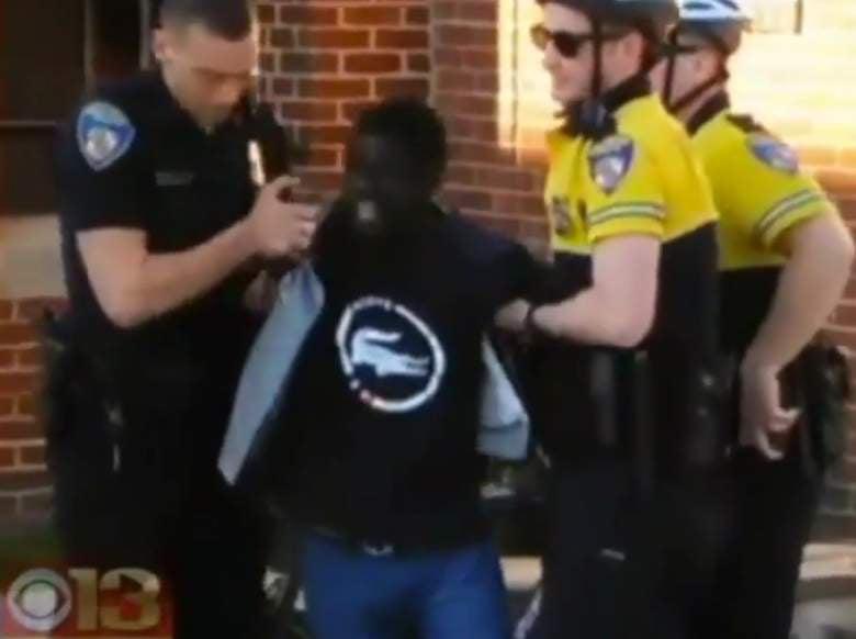 New Video Shows Freddie Gray Unresponsive, Lying Head First in Police Van