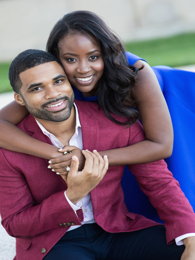 Just Engaged: Nydia and Terrance's Love Story