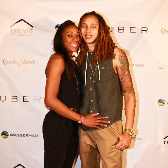 WNBA's Brittney Griner and Glory Johnson Get Hitched in Phoenix