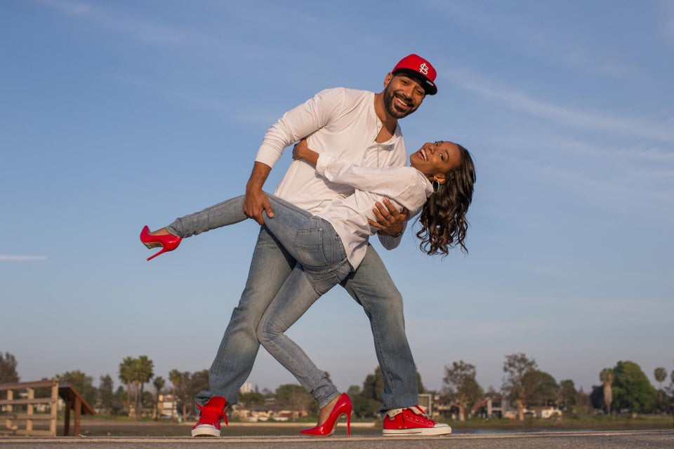 Just Engaged: College Sweethearts Rekindle Their Romance