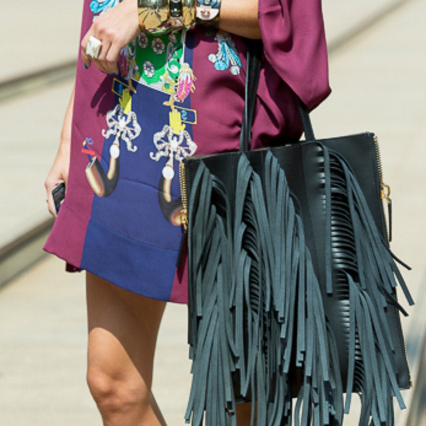 Accessories Street Style: On The Fringe