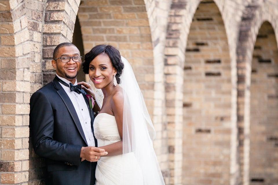 Bridal Bliss: Christiana-Rose and Obiajulu's Texas Wedding