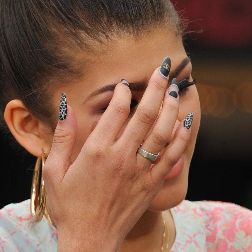 Zendaya Shares Her 4 Favorite Nail Trends