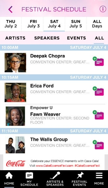 The Official 2015 ESSENCE Festival App Is Available Now