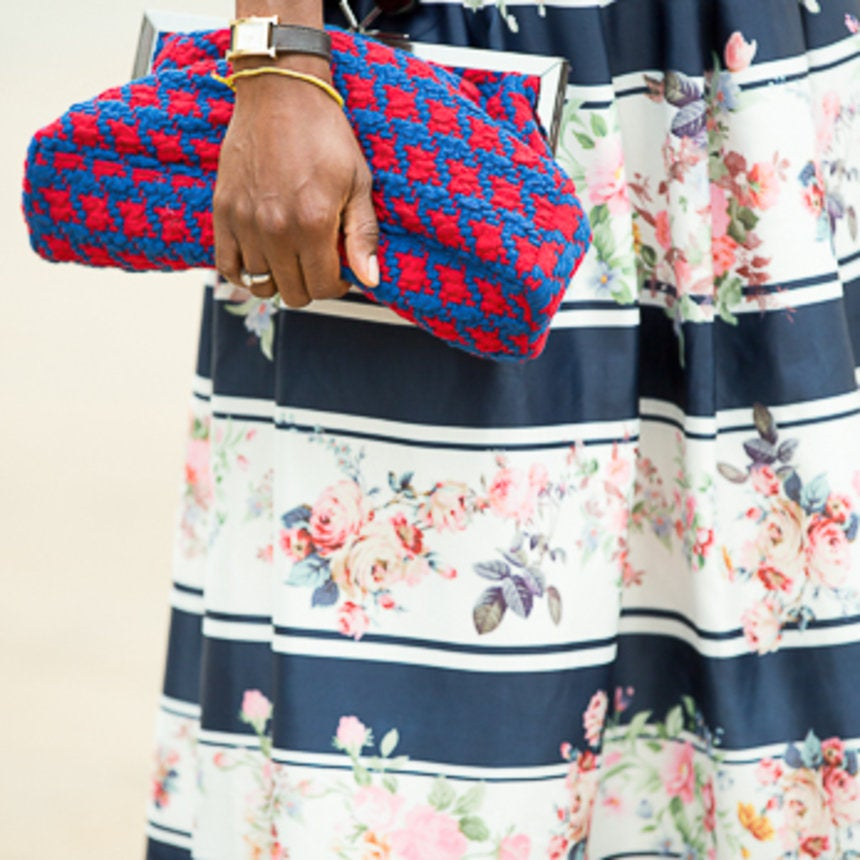 Accessories Street Style: Fall Into My Clutch