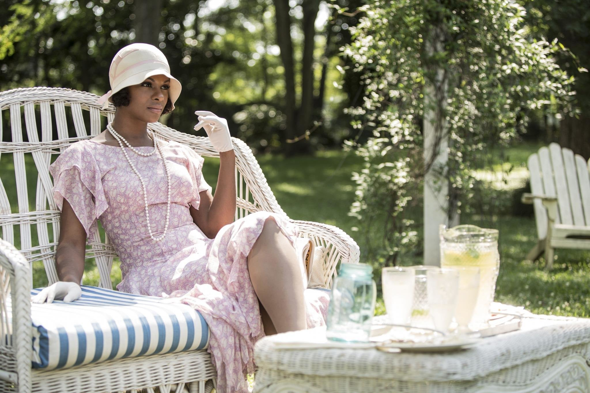 Tika Sumpter on Playing Queen Latifah's Love Interest in 'Bessie,' Preparing to Play Michelle Obama