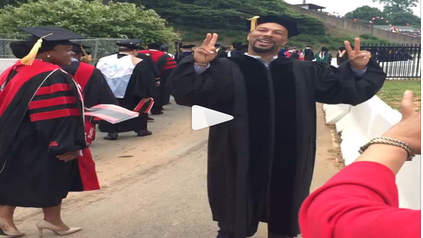 Common Receives Honorary Doctorate Degree
