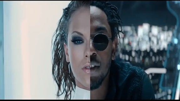 """Watch Kendrick Lamar Take Over Taylor Swift's New Video, """"Bad Blood"""""""