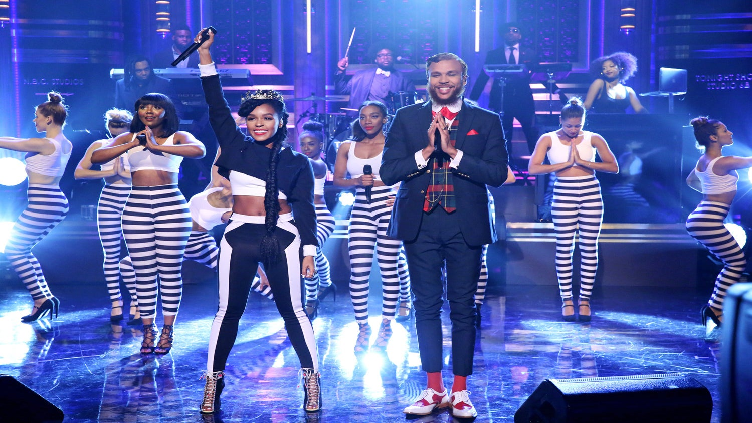 "Watch Janelle Monae Perform with Her New Protegé on ""Jimmy Fallon"""