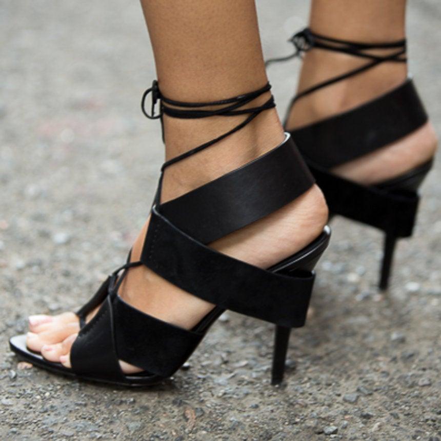 Accessories Street Style: 12 Eye-Catching Heels