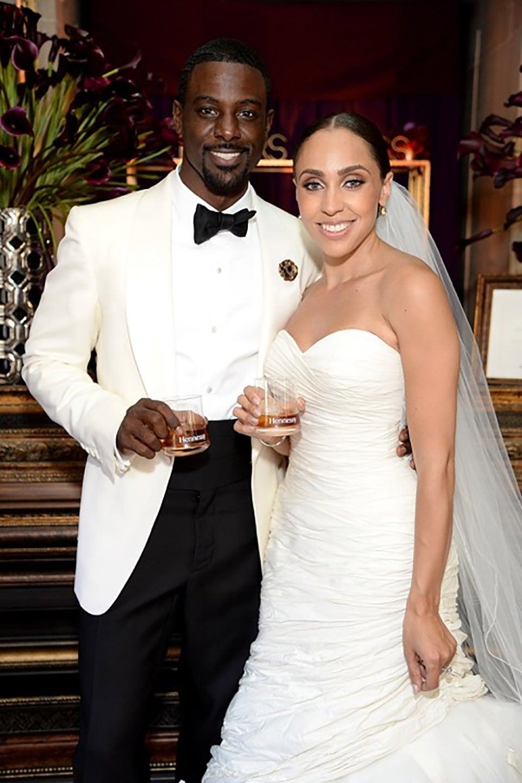 Lance Gross Marries Longtime Girlfriend Rebecca Jefferson