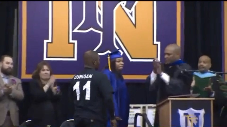 Must See: Mom Accepts Diploma on Behalf of Son Who Died in Car Crash on Prom Night