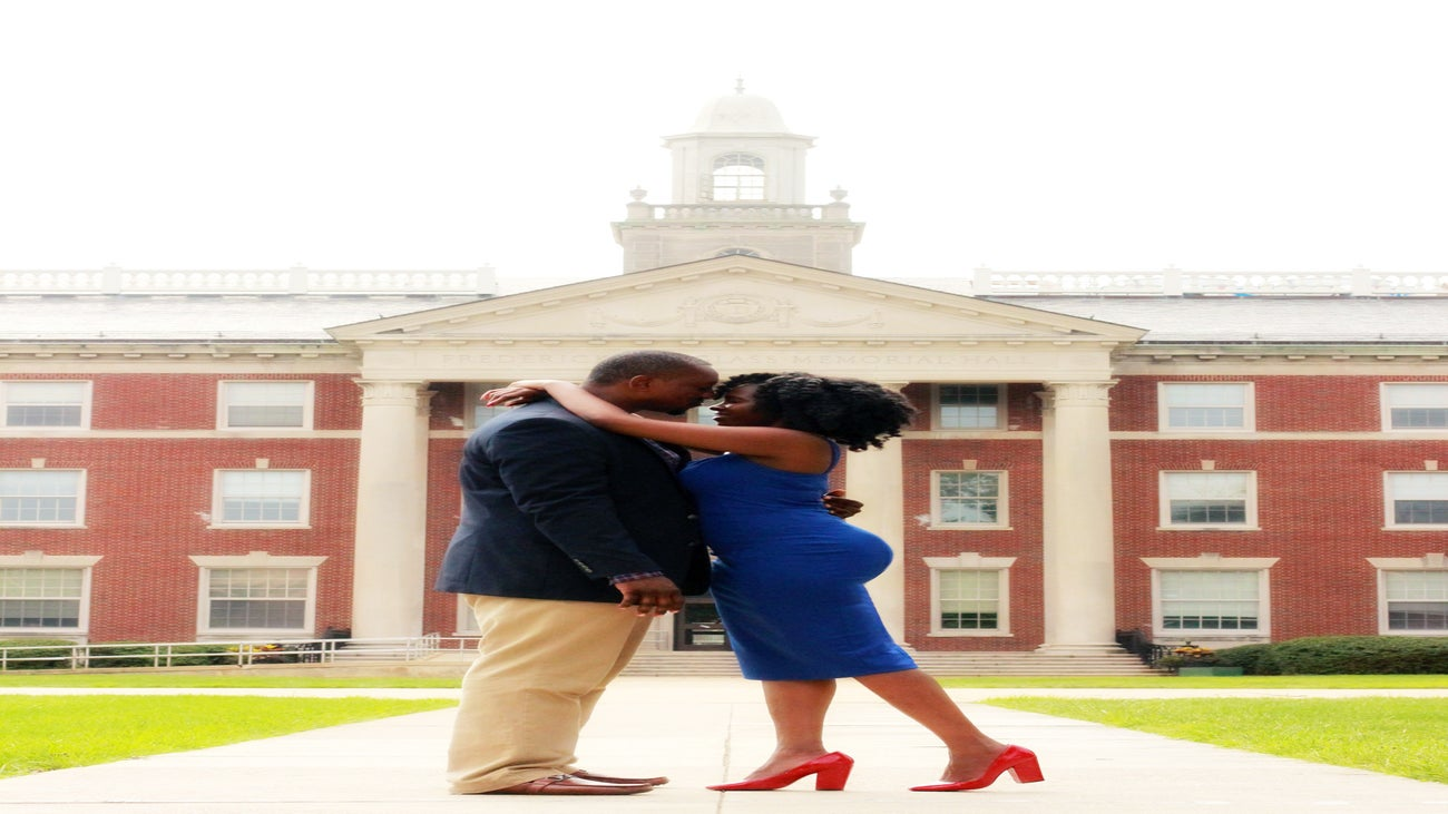 Just Engaged: Mika and Kamau's Engagement Story