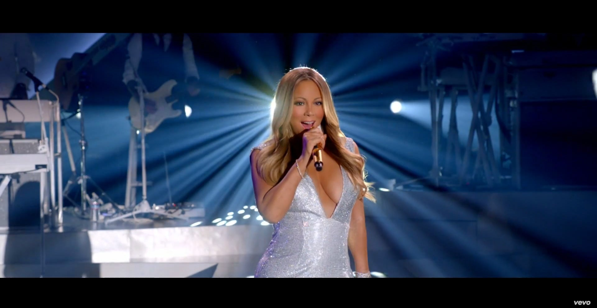 Eye Candy! Watch Jussie Smollett and Tyson Sizzle in Mariah Carey's 'Infinity' Video