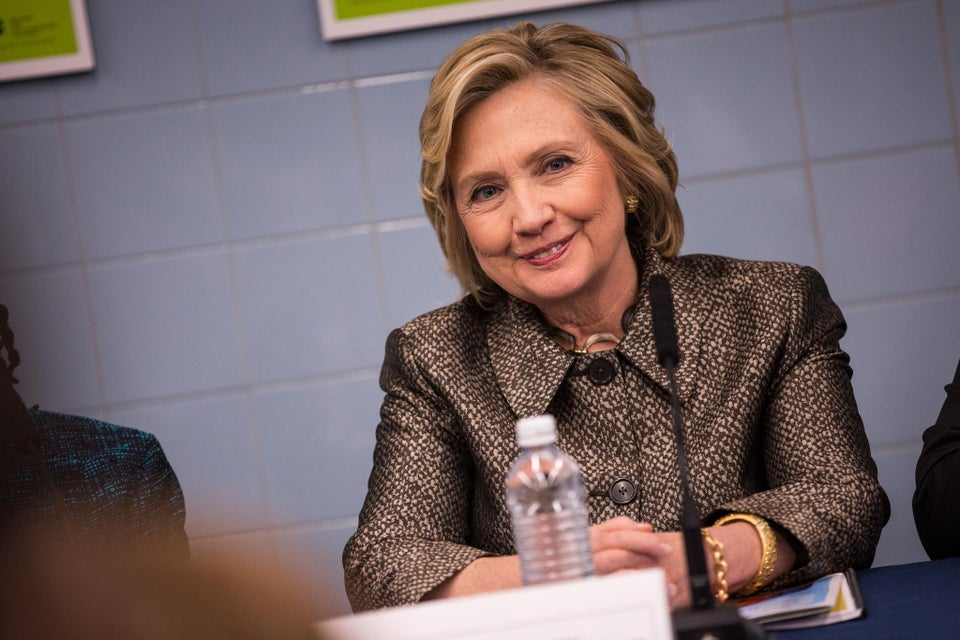 Hillary Clinton Sits Down With Black Lives Matter Activists