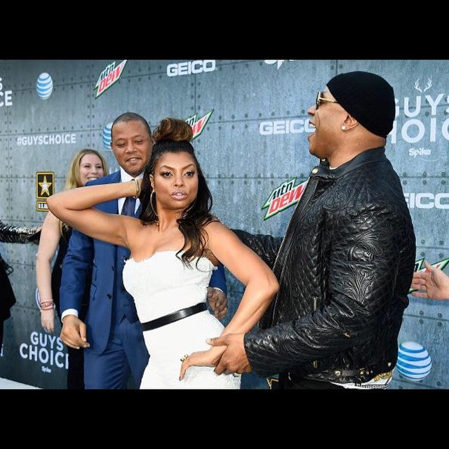 Must-See: Taraji P. Henson, LL Cool J and Terrence Howard Steal the Show at the Guys' Choice Awards