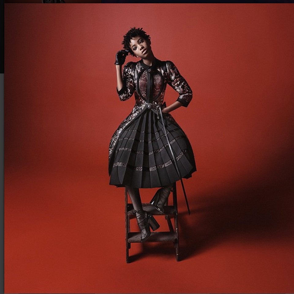 Willow Smith Nabs Marc Jacobs Campaign